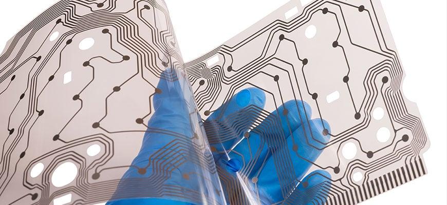 printed flexible touch sensor